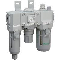 CKD(シーケーディー) モジュラータイプセレックスFRL 2000シリーズ C2000-8-W-F1 1個 376-8538 (直送品)