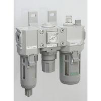 CKD(シーケーディー) モジュラータイプセレックスFRL 2000シリーズ C2000-10-W 1個 376-8503 (直送品)