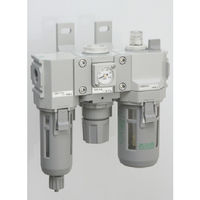CKD CKD モジュラータイプセレックスFRL2000シリーズ C200010WF1 1個 376ー8511 (直送品)