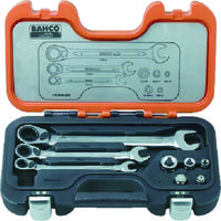 Snap-on Tools(スナップオン・ツールズ) バーコ ラチェットコンビレンチ&アダプターセット 1RMAS8 1セット 384-9554 (直送品)