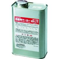 サクラクレパス サクラ 鉄鋼用マーカー補充インキ 白 HPKK1000ML50W 1缶 384ー8078 (直送品)