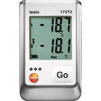 テストー テストー温度データロガ内蔵1チャンネル+外付1チャンネル TESTO175T2 1台 392ー4866 (直送品)