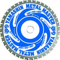 山真製鋸 YAMASIN メタルマスター鉄工用 YSD165MM 1枚 333-8363 (直送品)