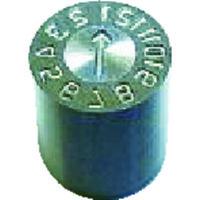 浦谷商事 浦谷 金型デートマークOM型 10mm OPOM10 1個 381ー9124 (直送品)