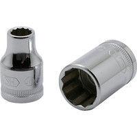 旭金属工業 ASH 12角ソケット12.7□×8mm VS4080 1個 376ー7345 (直送品)