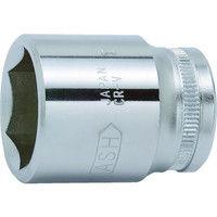 旭金属工業 ASH 6角ソケット12.7□×23mm VJR4230 1個 376ー7167 (直送品)