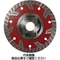 ロブテックス(LOBTEX) ダイヤモンドホイール ぶった斬り 105mm WBG105 1枚 381-7628 (直送品)