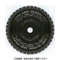 モトユキ グローバルソーファインメタル 鉄ステン兼用 GLA-185G 1枚 379-3133 (直送品)
