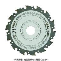 モトユキ 窯業サイディングボード用 超硬チップソー TK-125 1枚 379-3559 (直送品)