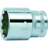 旭金属工業 ASH 12角ソケット12.7□×17mm VS4170 1個 376ー7434 (直送品)