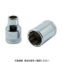旭金属工業 ASH 12角ソケット12.7□×18mm VS4180 1個 376ー7442 (直送品)