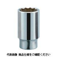 京都機械工具 KTC 19.0sq.ディープソケット(十二角) 46mm B4546 1個 383ー4395 (直送品)