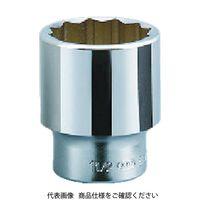 京都機械工具 19.0sq.ソケット(十二角)45mm B40-45 1セット 383-4042 (直送品)
