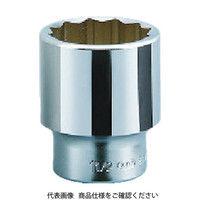 京都機械工具 KTC 19.0sq.ソケット(十二角)48mm B40-48 1セット 383-4069 (直送品)