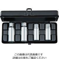 京都機械工具 KTC 12.7sq.スタッドボルトリムーバーセット[4コ組] BSR354 1セット(4個) 383-5553 (直送品)