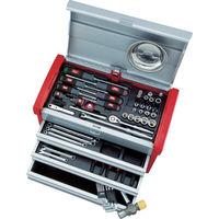 京都機械工具 KTC 9.5sq.工具セット(チェストケース) SK3650E 1セット 388ー0052 (直送品)