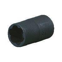 京都機械工具 KTC 9.5sq.ツイストソケット 16mm B3TW16 1個 383ー3925 (直送品)