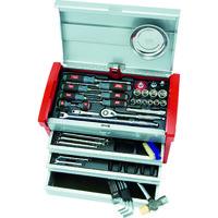 京都機械工具 KTC 12.7sq.工具セット(チェストケース) SK4580E 1セット 388ー0109 (直送品)
