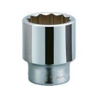 京都機械工具 KTC 19.0sq.ソケット(十二角) 75mm B4075 1個 383ー4115 (直送品)