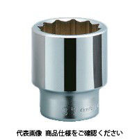 京都機械工具 KTC 19.0sq.ソケット(十二角) 85mm B40-85 1個 383-4131 (直送品)