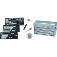 京都機械工具 KTC 9.5sq.工具セット(チェストケース) SK3650XS 1セット 388ー0087 (直送品)