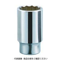 京都機械工具 KTC 19.0sq.ディープソケット(十二角) 35mm B4535 1個 383ー4328 (直送品)