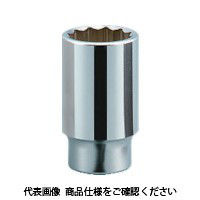 京都機械工具 KTC 19.0sq.ディープソケット(十二角) 60mm B45-60 1個 383-4492 (直送品)