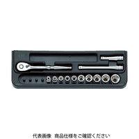 KTC KYOTO TOOL(京都機械工具) ソケットレンチセット[17点] 6.3SQ TB214 1セット 383-9214 (直送品)