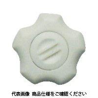 三星産業貿易 三星 フィットノブ M10 本体/白 キャップ/白(5個入り) FITWM10W5P 1セット(1袋:5個入×1) 381ー6753 (直送品)