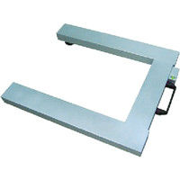 守隨本店(SHUZUI) デジタルはかり ニューダービー AL製 Mタイプ 秤量1000kg ADBK10M 1台 392-4572 (直送品)