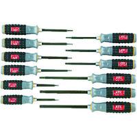 京都機械工具 KTC 樹脂柄T型トルクスドライバセット[12本組] TD1T12 1セット 383ー9664 (直送品)