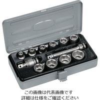 TONE TONE インパクト用ソケットセット(メタルトレー付) 12pcs NV3102 1セット 387ー6756 (直送品)