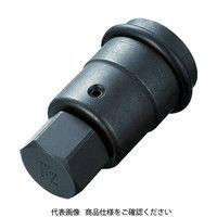 TONE TONE インパクト用ヘキサゴンソケット(差替式) 6AH24H 1セット 387ー6047 (直送品)