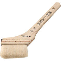 トラスコ中山 TRUSCO 徳用ニス刷毛木柄 30号 TPB428 1本 254ー8542 (直送品)