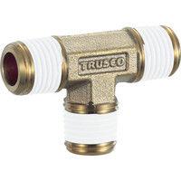トラスコ中山 TRUSCO ねじ込み継手 チーズ R1/4XR1/4XR1/4 TN02T 1個 257ー6741 (直送品)