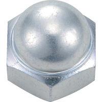 トラスコ中山(TRUSCO) 袋ナット 三価白 サイズM10X1.5 9個入 B739-0010 1パック(9個) 300-3388 (直送品)