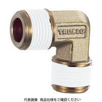 トラスコ中山(TRUSCO) ねじ込み継手 エルボ R1/4XR1/4 TN-02L 1個 257-6538 (直送品)