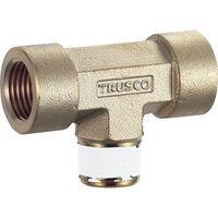トラスコ中山 TRUSCO ねじ込み継手 チーズ RC1/2XR1/2XRC1/2 TN0414T 1個 257ー6805 (直送品)