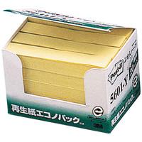 ポスト・イット(R) エコノパック(TM) ふせんハーフ 再生紙 5601-Y