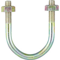 トラスコ中山 TRUSCO PC管用Uボルト クロメート 呼び径15A ねじ径W3/8 TPCUBT15A 1個 285ー9432 (直送品)
