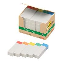 スリーエム ポスト・イット(R)見出し 100%再生紙シリーズ 50×15mm 色帯 25冊
