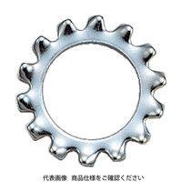 トラスコ中山 TRUSCO 外歯ワッシャー 三価白 サイズM6 110個入 B860006 160ー9009 (直送品)