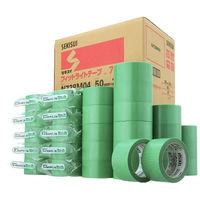 積水化学工業 フィットライトテープ No.738 グリーン 幅50mm×25m巻 N738m04 1セット(90巻:30巻入×3箱)