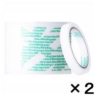 アスクル メンディングテープ 大巻 15mm×50m 1セット(5巻入×2パック)