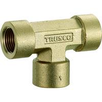 トラスコ中山(TRUSCO) ねじ込み継手 チーズ RC1/2XRC1/2XRC1/2 TN-14T 1個 257-6848 (直送品)