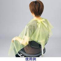プラスチックケープ イエロー 1ケース(800枚:50枚入×16箱) 長谷川綿行 (取寄品)