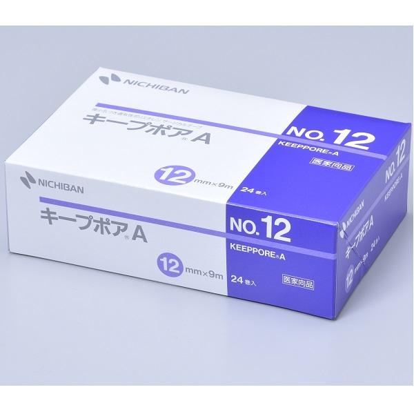 ニチバン キープポアA 12mm×9m No.12 1箱(24巻入)