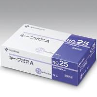 キープポア 微小孔つきポリエチレンサージカルテープ A 25mm幅 9m巻き 12巻