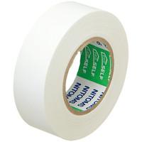 ニトムズ ビニルテープS 白 19mm×10m巻 J2575 1箱(10巻入)