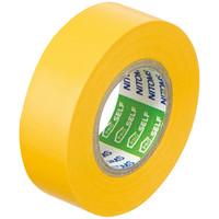 ニトムズ ビニルテープS 黄 19mm×10m巻 J2572 1箱(10巻入)